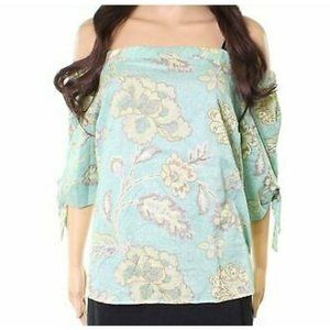 Anthropologie  Willow & Clay Off Shoulder Floral